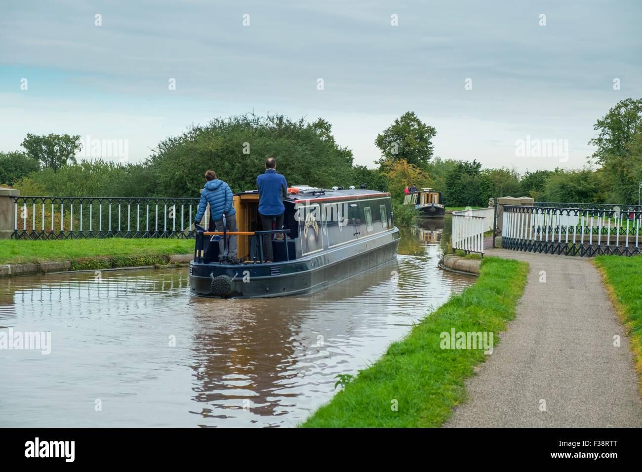Nantwich Aqueduct - Nantwich - Shropshire Union Canal - Stock Image