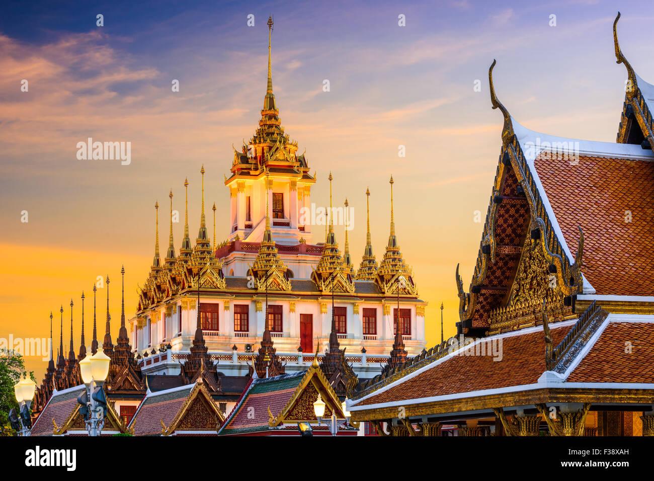 Wat Ratchanatdaram in Bangkok, Thailand. - Stock Image