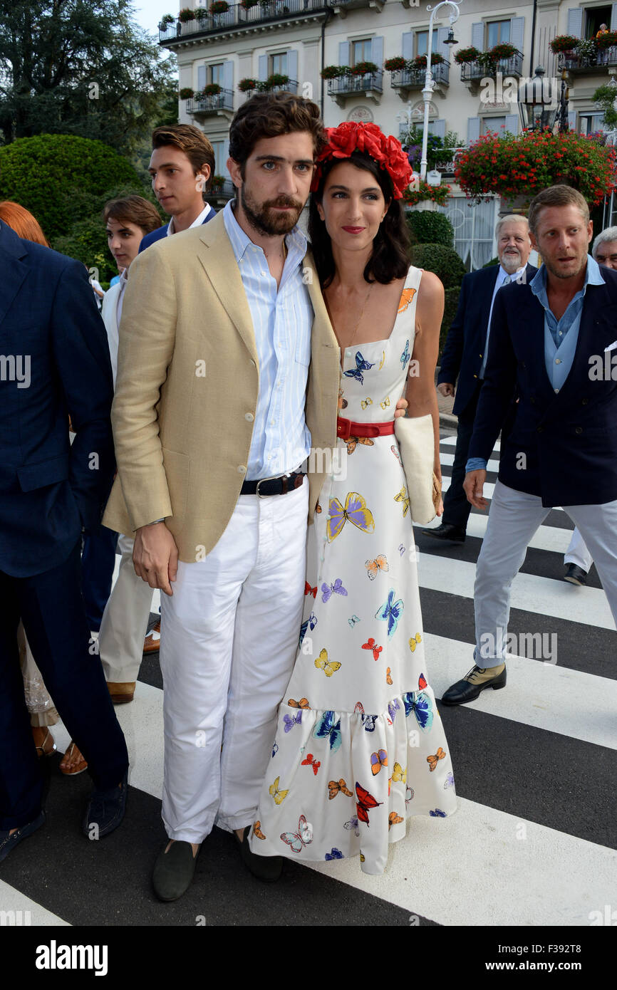 The Wedding Of Pierre Casiraghi And Beatrice Borromeo Featuring Stock Photo Alamy