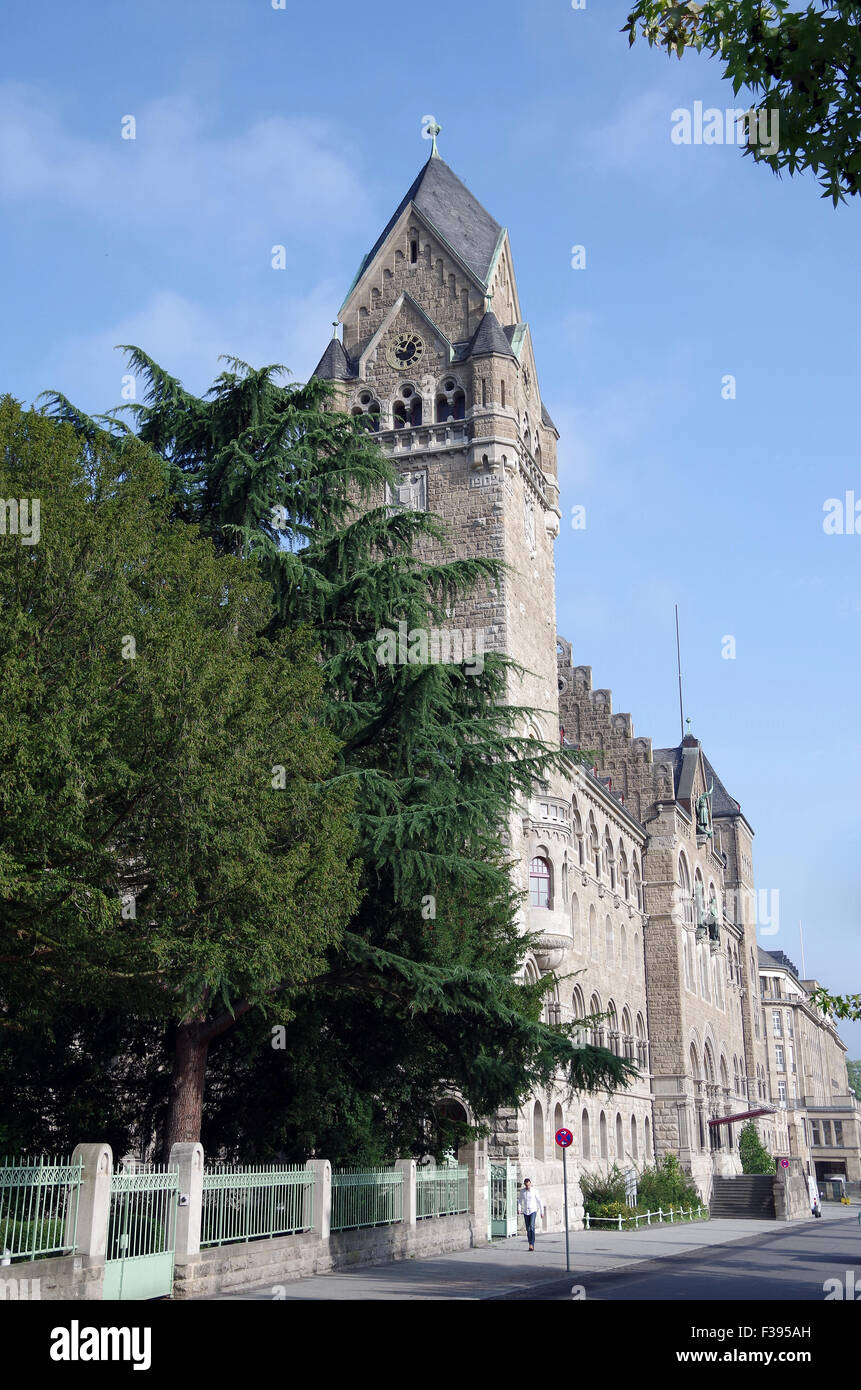 Prussian Government Building, Koblenz, Germany - Stock Image
