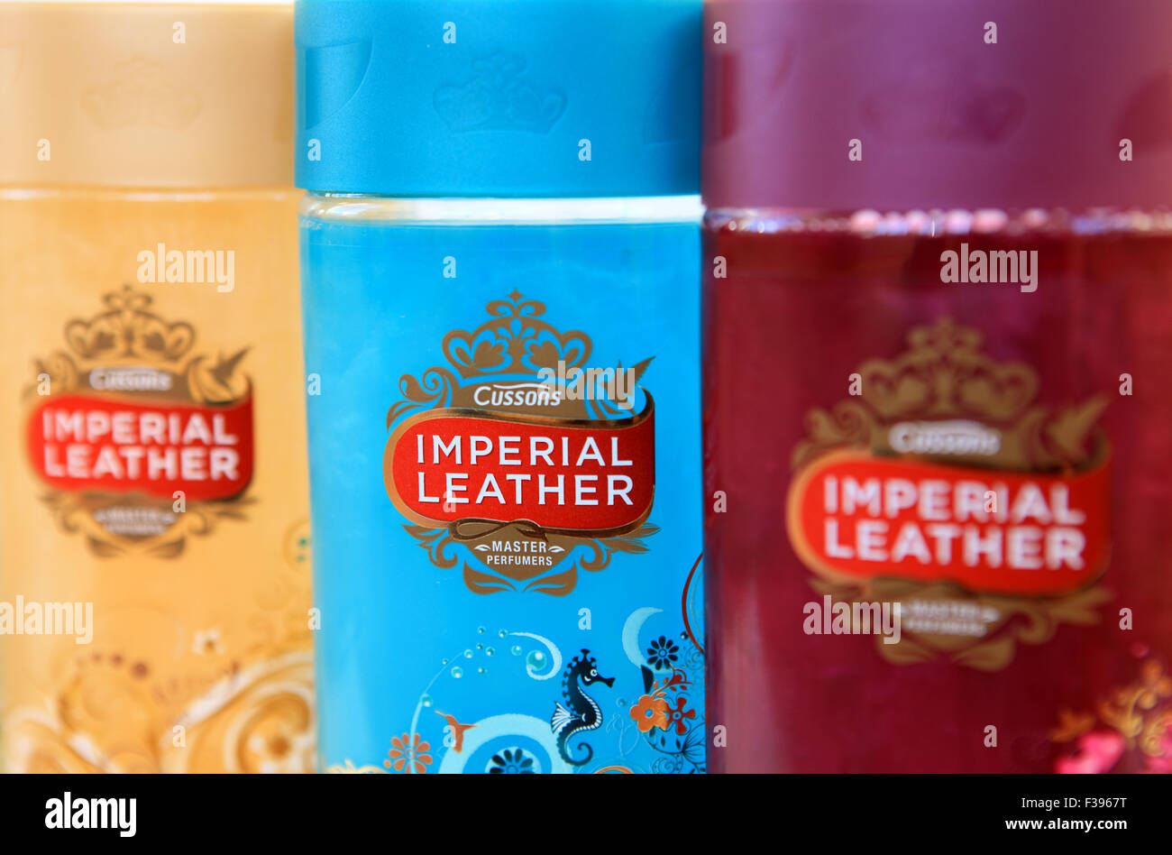 Cussons Imperial Leather bath soak - Stock Image