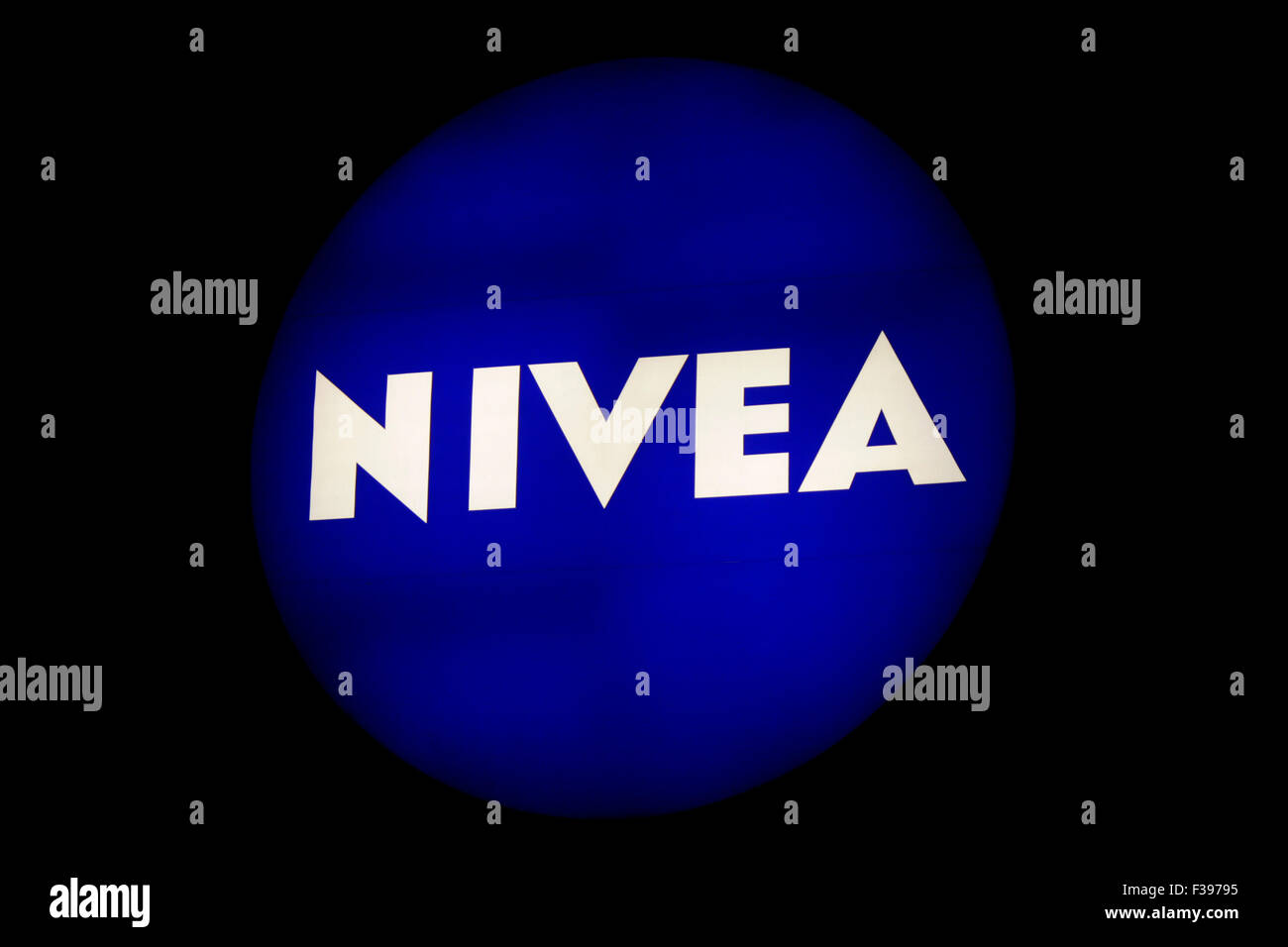 "Markenname: ""Nivea"", Berlin. Stock Photo"