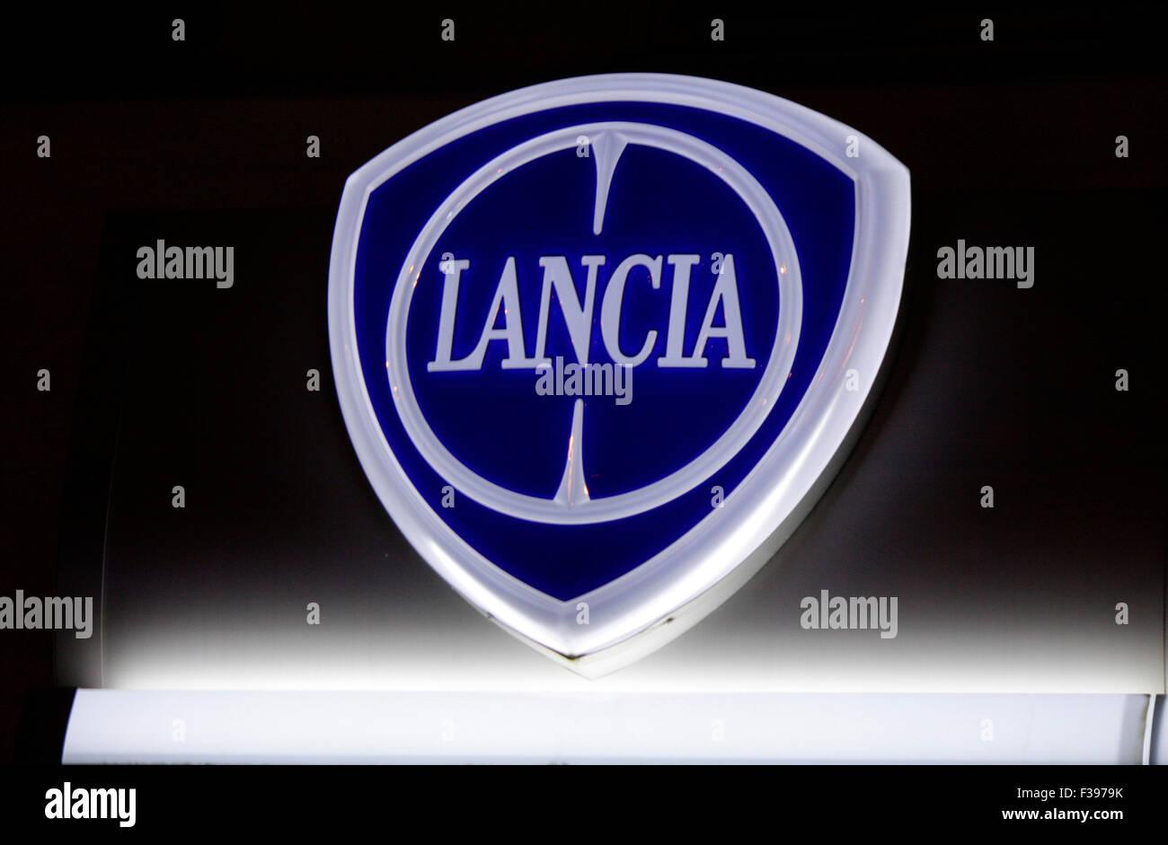 Markenname: 'Lancia', Berlin. - Stock Image