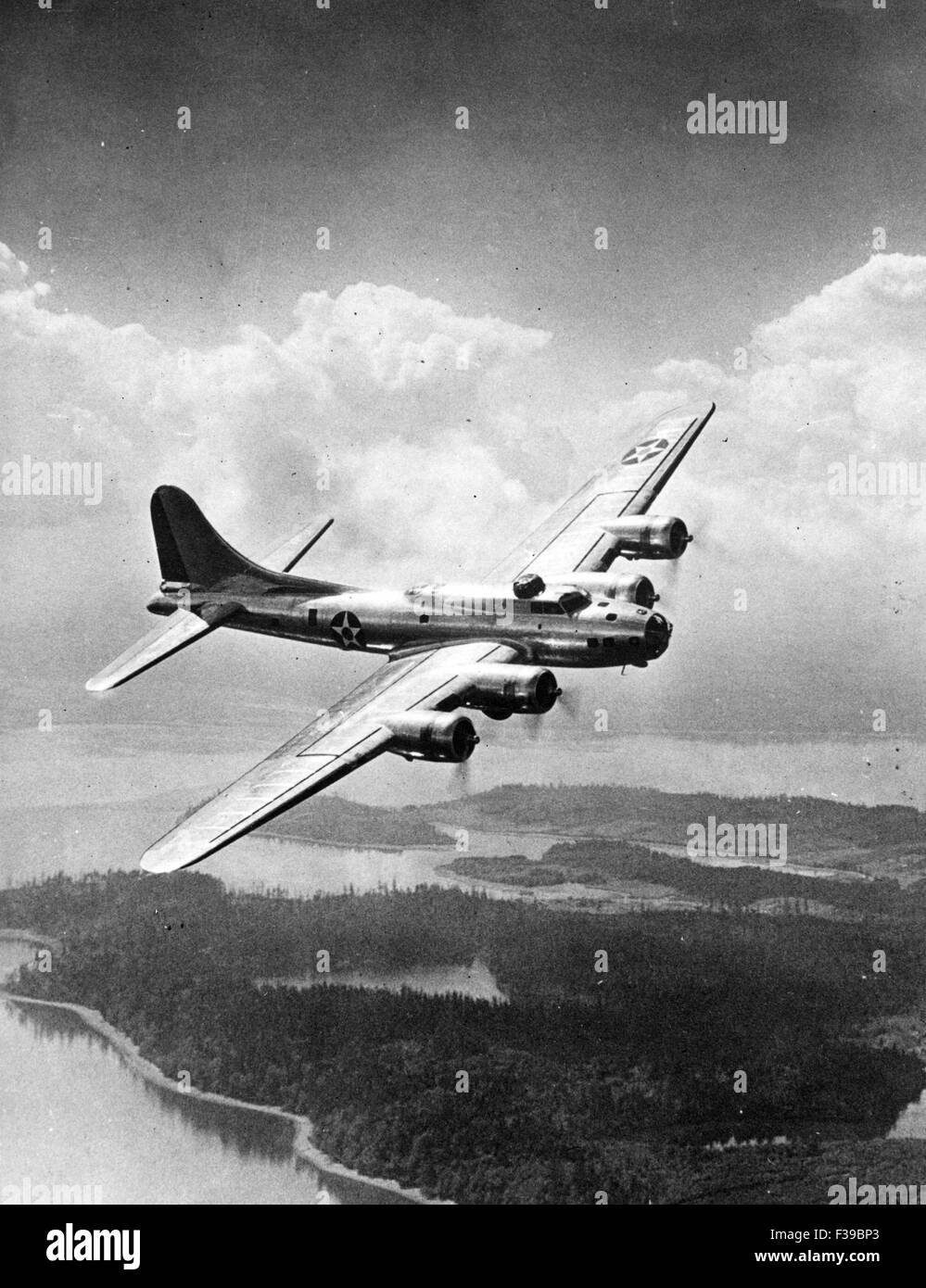 BOEING B-17 FLYING FORTRESS - Stock Image