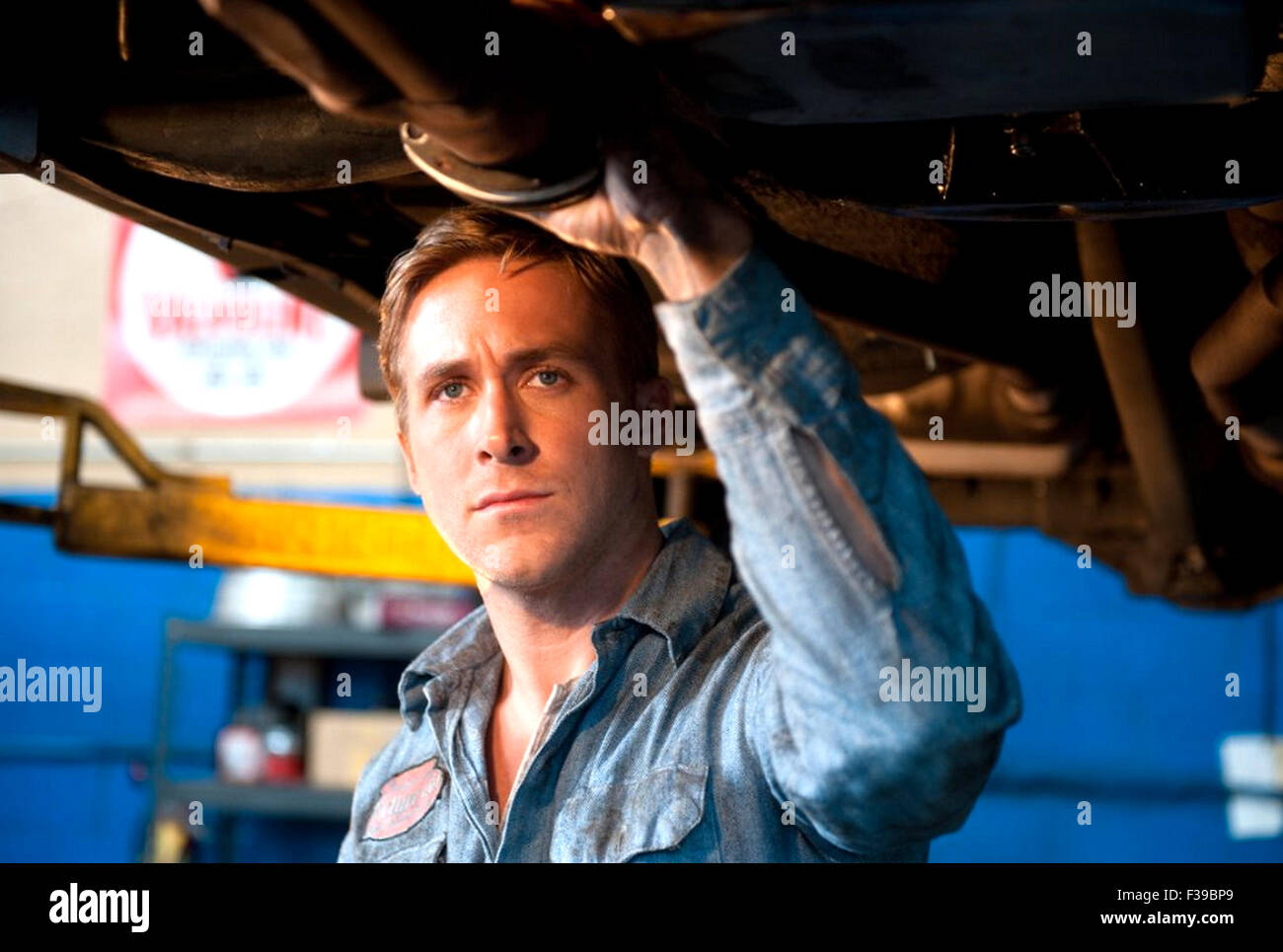 DRIVE  2011 FilmDistrict production with Ryan Gosling - Stock Image