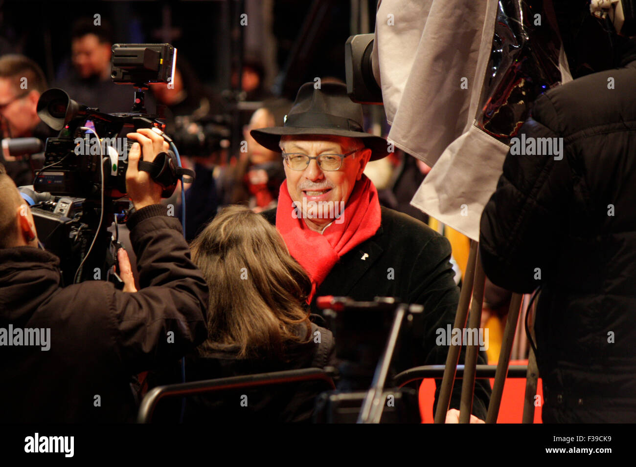 Dieter Kosslick - Berlinale 2014, Berlinale Palast, Februar 2014, Berlin. - Stock Image