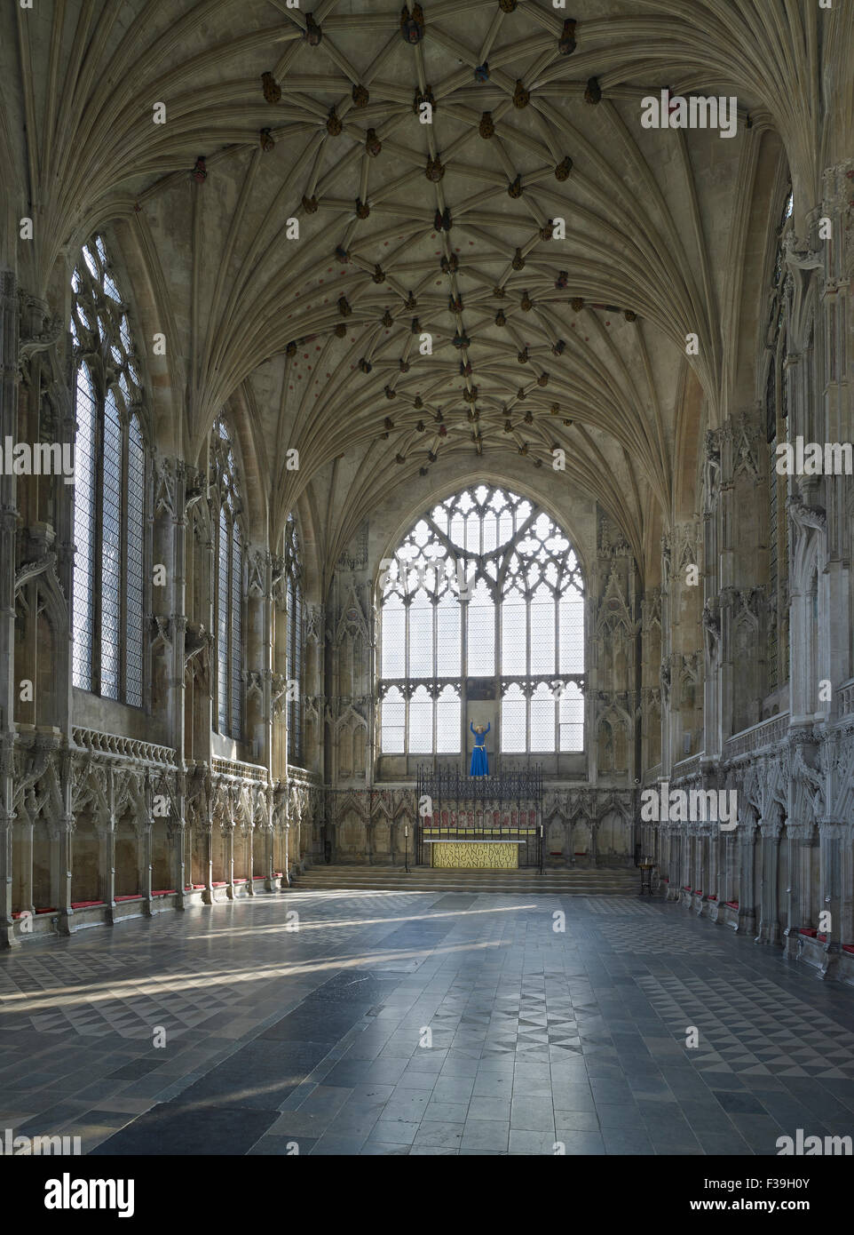Ely Cathedral Lady Chapel interior - Stock Image