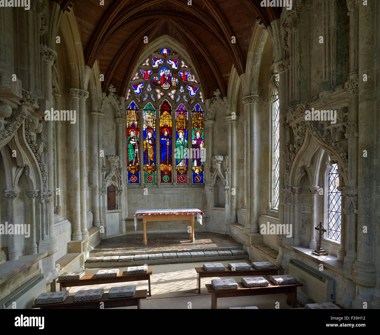 Ely Cathedral Prior Crauden's chapel - Stock Image