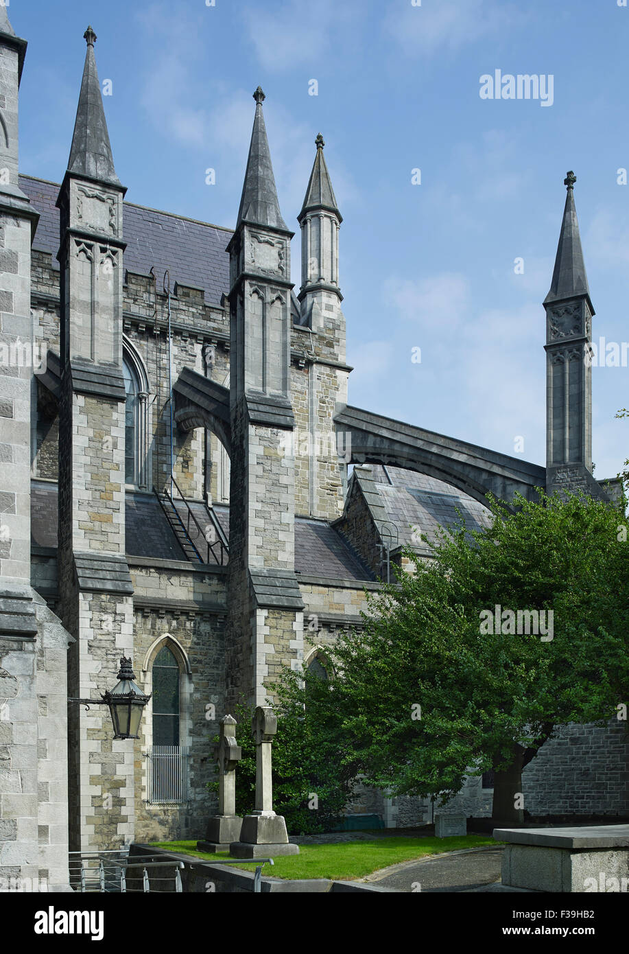 St Patrick's Cathedral Dublin choir - Stock Image