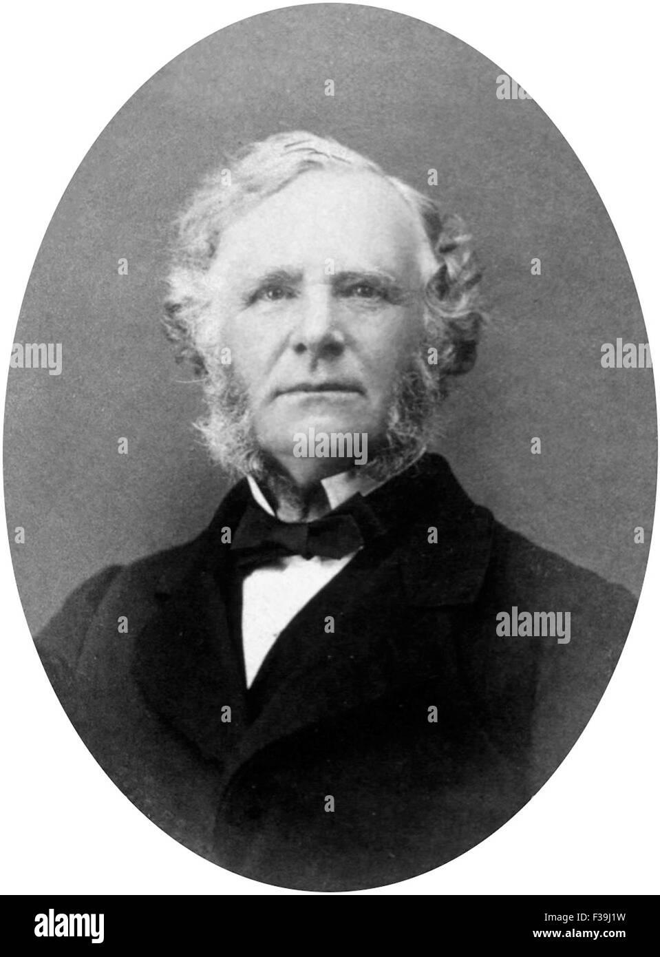 Sir William James Erasmus Wilson, Sir Erasmus Wilson, English surgeon and dermatologist - Stock Image