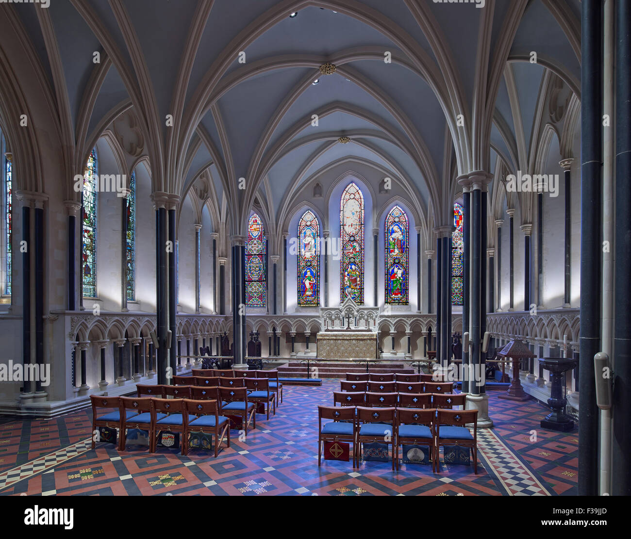 St Patrick's Cathedral Lady Chapel - Stock Image