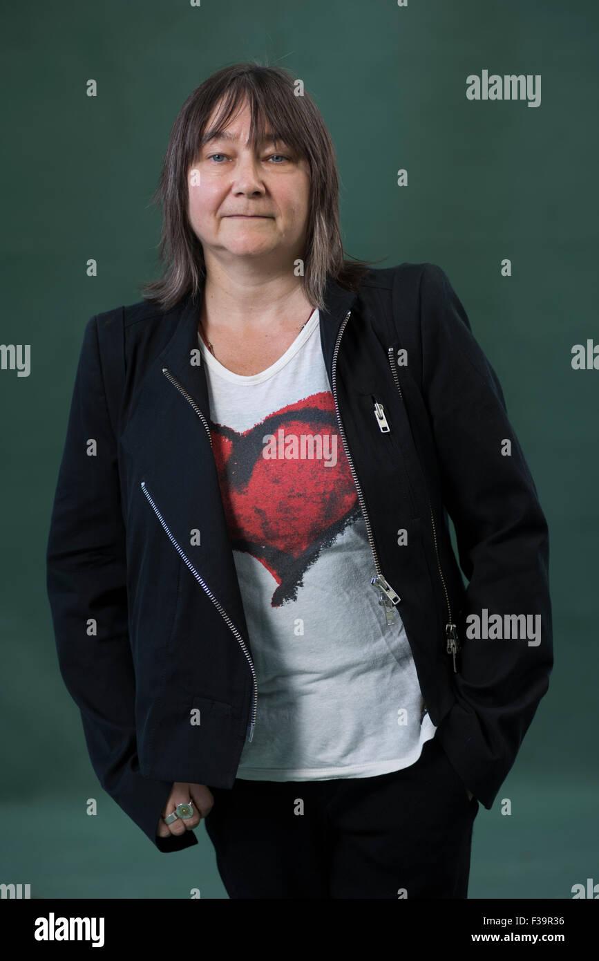 Scottish writer Ali Smith CBE FRSL. - Stock Image