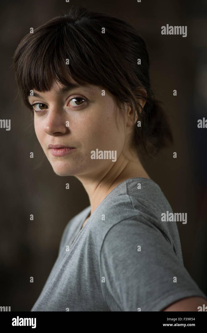 Canadian writer Eliza Robertson. - Stock Image