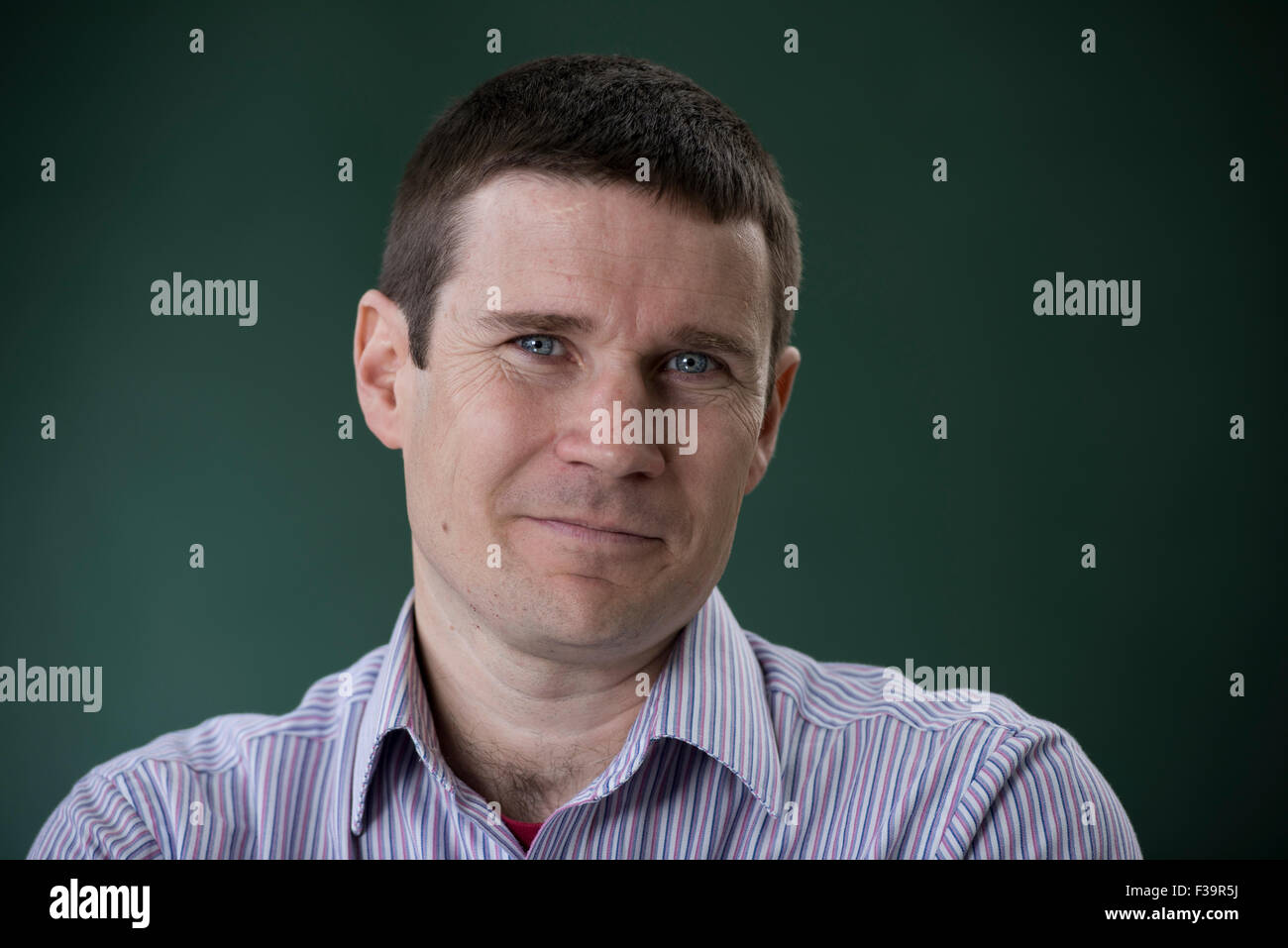 Scottish physician and writer Gavin Francis. - Stock Image
