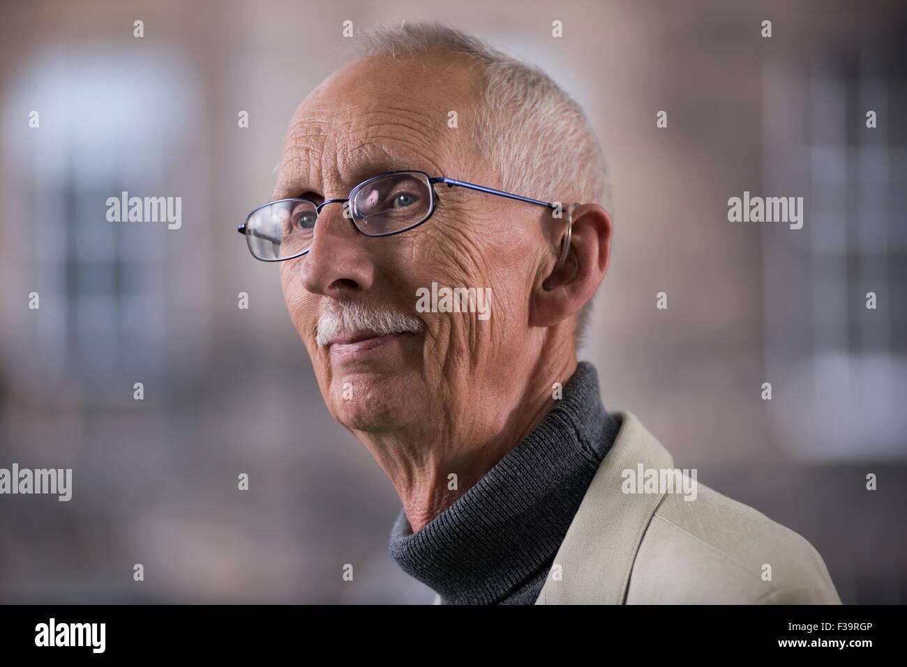 Author Ian Rutledge. - Stock Image