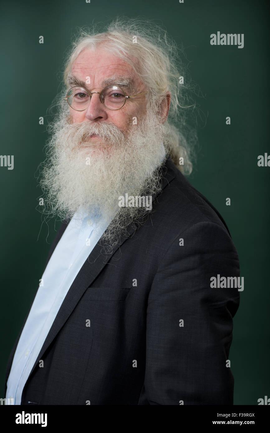 British philologist and Assyriologist Irving Finkel. - Stock Image