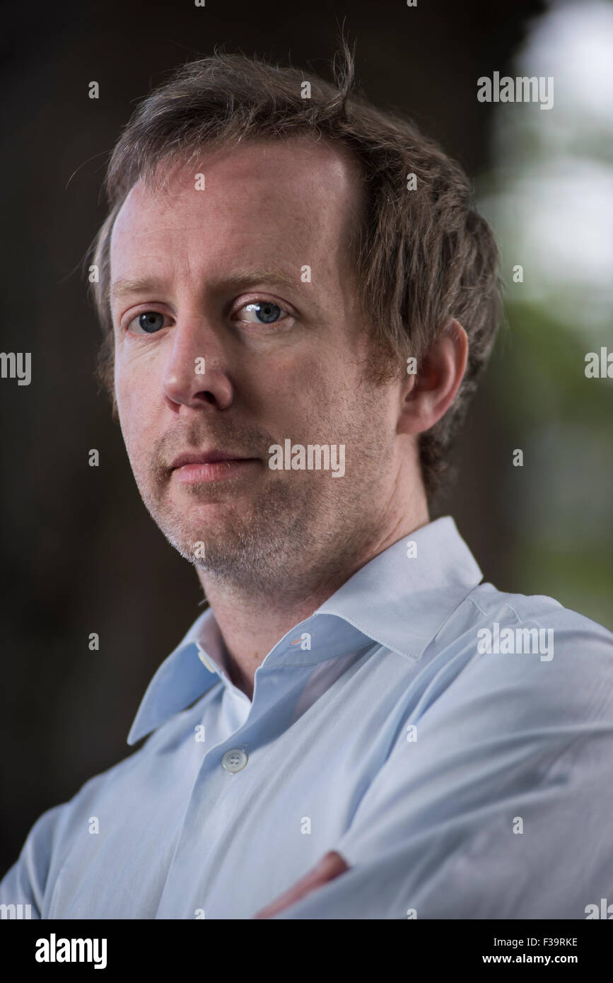 Irish novelist Paul Murray. - Stock Image