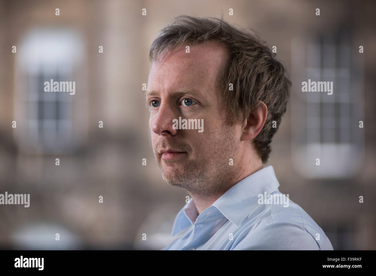 Irish novelist Paul Murray - Stock Image