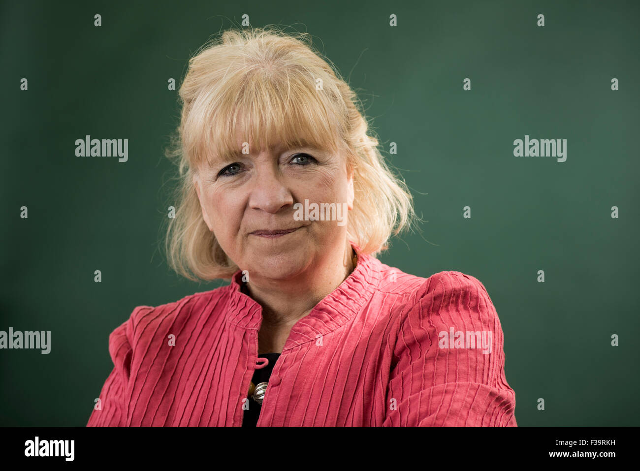 British journalist and writer Polly Toynbee Stock Photo