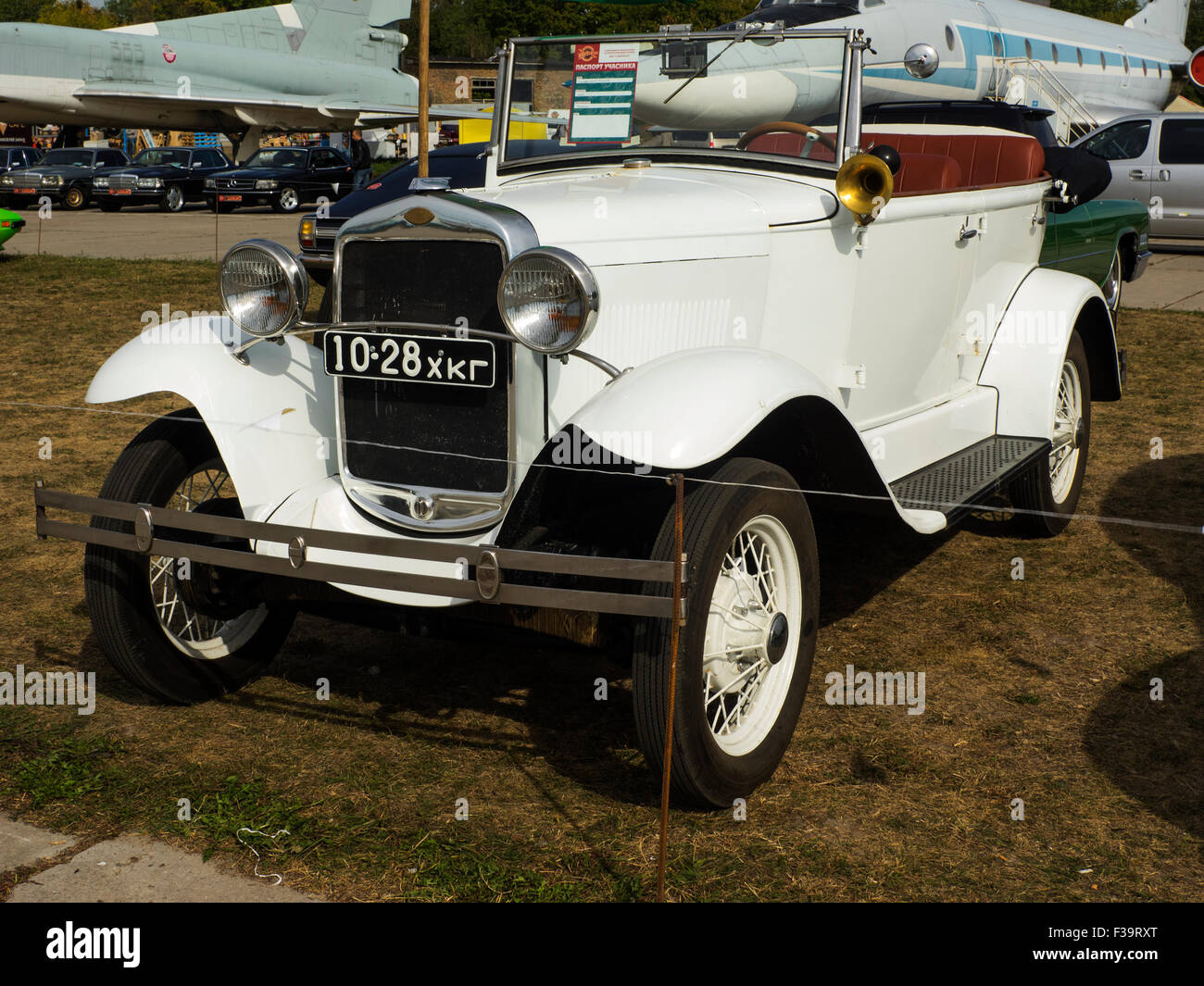 Ford A cabrio -- Old Car Land is the biggest retro cars festival ...