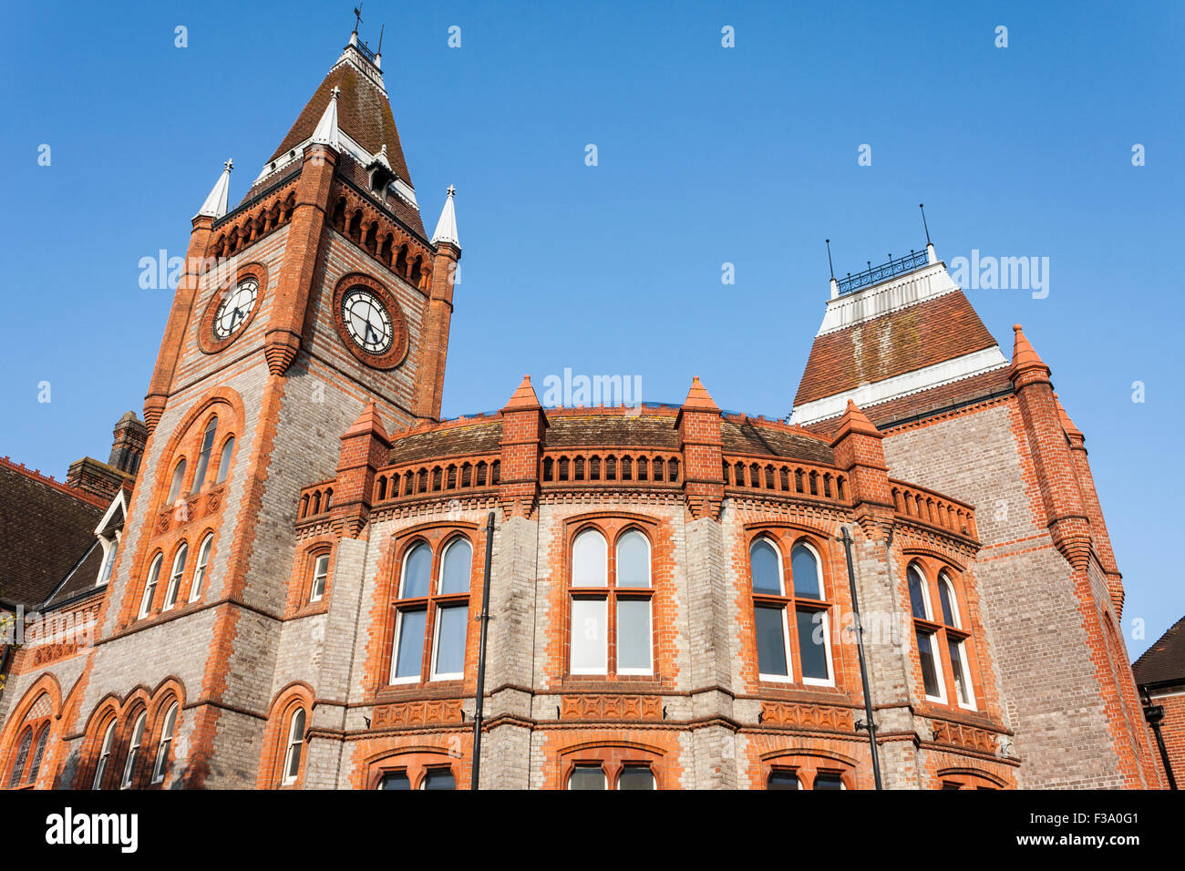 Reading Town Hall, Reading, Berkshire, England, GB, UK. - Stock Image