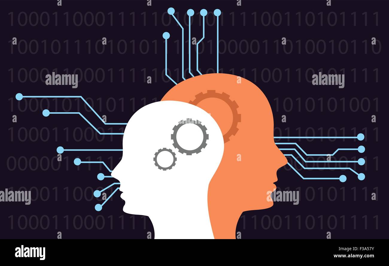 artificial intelligence - Stock Vector