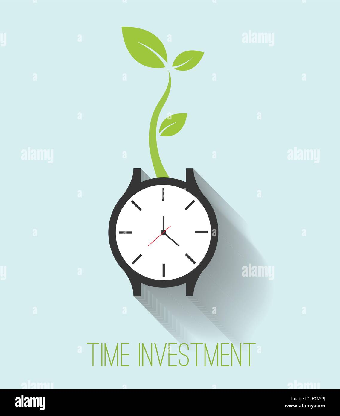 Time investment - Stock Image