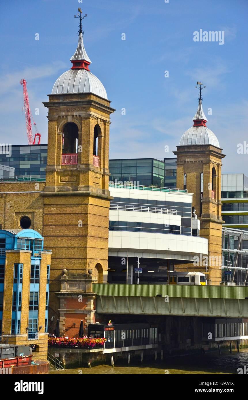 Cannon Street Station, London, England, UK - Stock Image