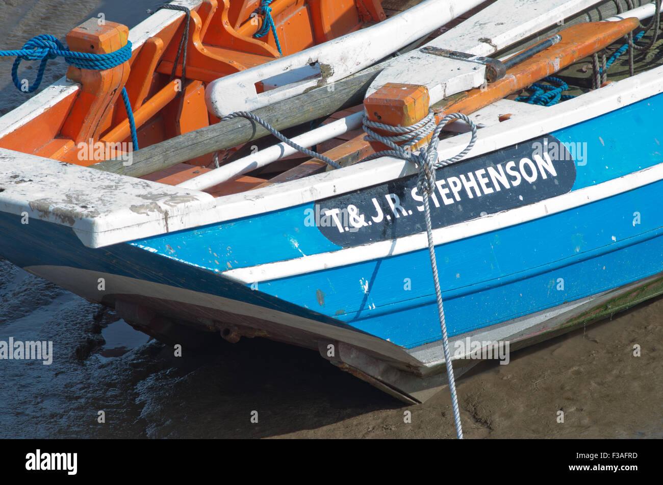 T & JR Stephenson Fishing boat Bridlington Harbour UK Stock Photo