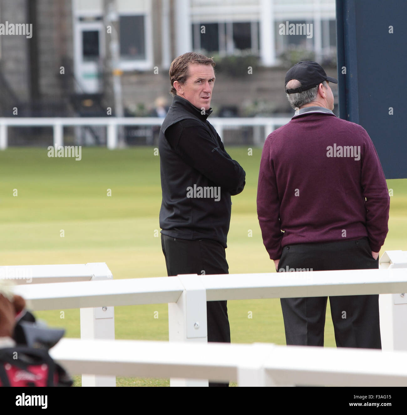Fife, Scotland, UK. 2nd October, 2015. AP MCCOY Plays the The Alfred Dunhill Links Championship 2015 Credit:  Derek - Stock Image