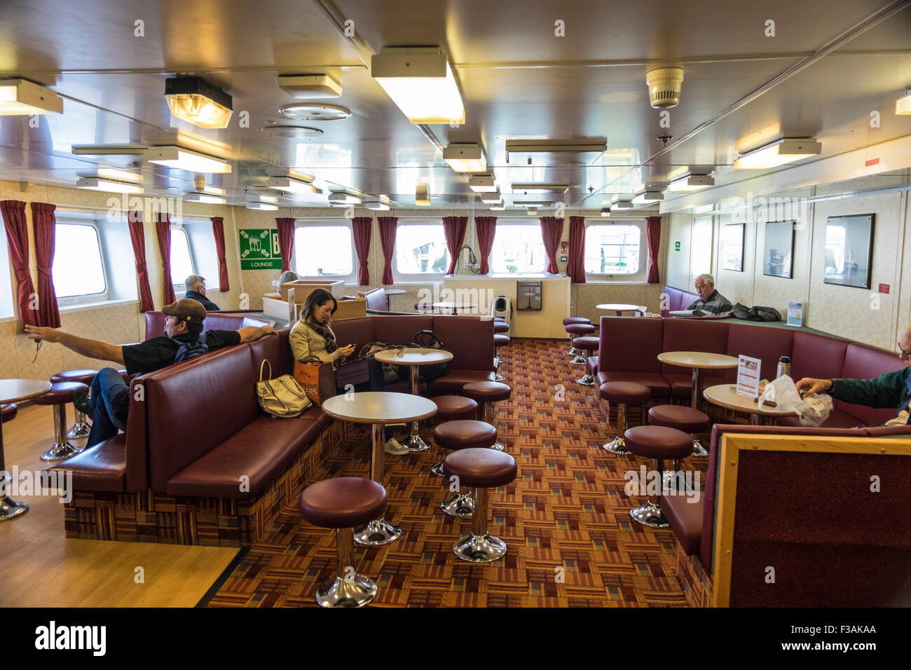 Isle Of Arran Car Ferry Service And Passenger Lounge
