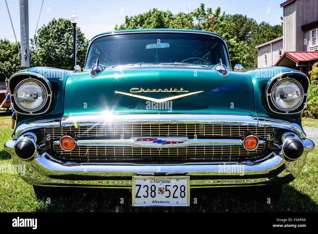 Chevrolet Nomad Stock Photos Images Alamy Bel Air 57 Chevy Tailgate Diagram 1957 Chesapeake Bay Maritime Museum St Michaels Maryland