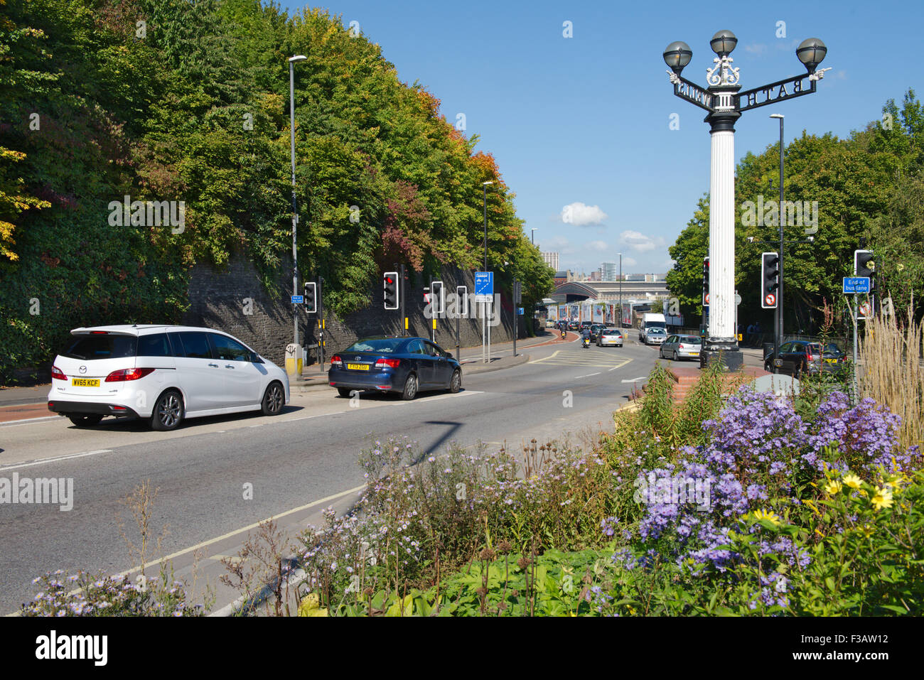Bristol three lamps historic junction, Wells Road Bath Road junction ...