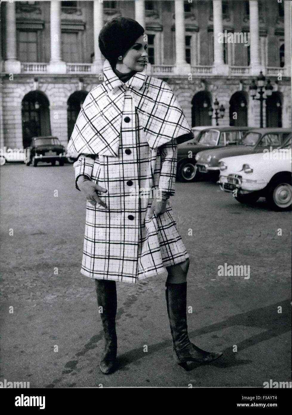 Dec. 20, 1965 - But Yes, It's In The Fur Of Scottish printed certainment who wins a large knewest this winter. - Stock Image