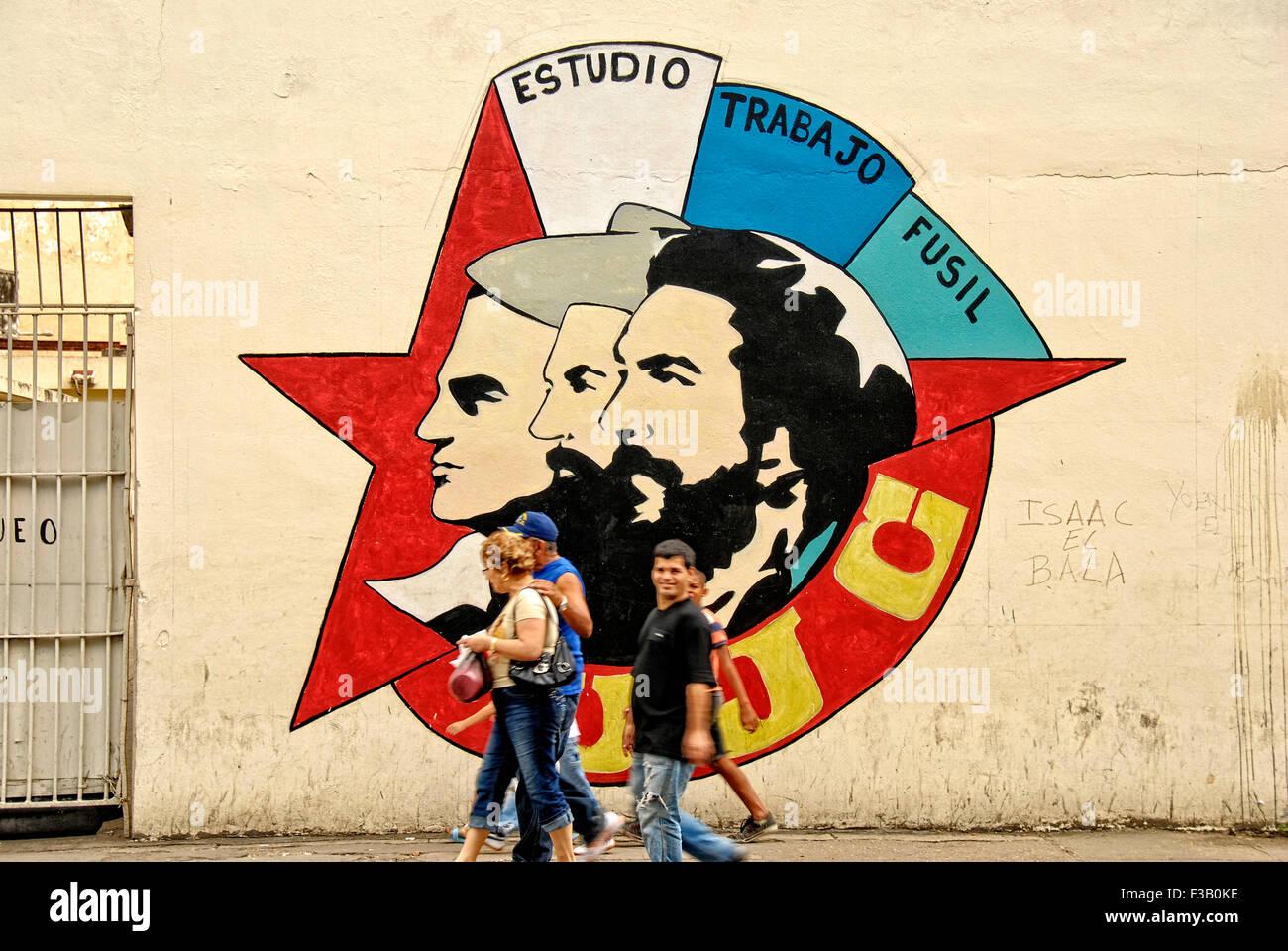 Cuban Revolution Painting Stock Photos & Cuban Revolution Painting ...