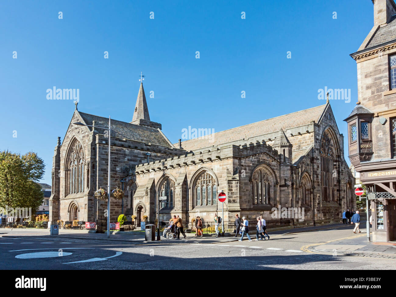The Parish Churchs of the Holy Trinity in South Street St. Andrews Fife Scotland - Stock Image