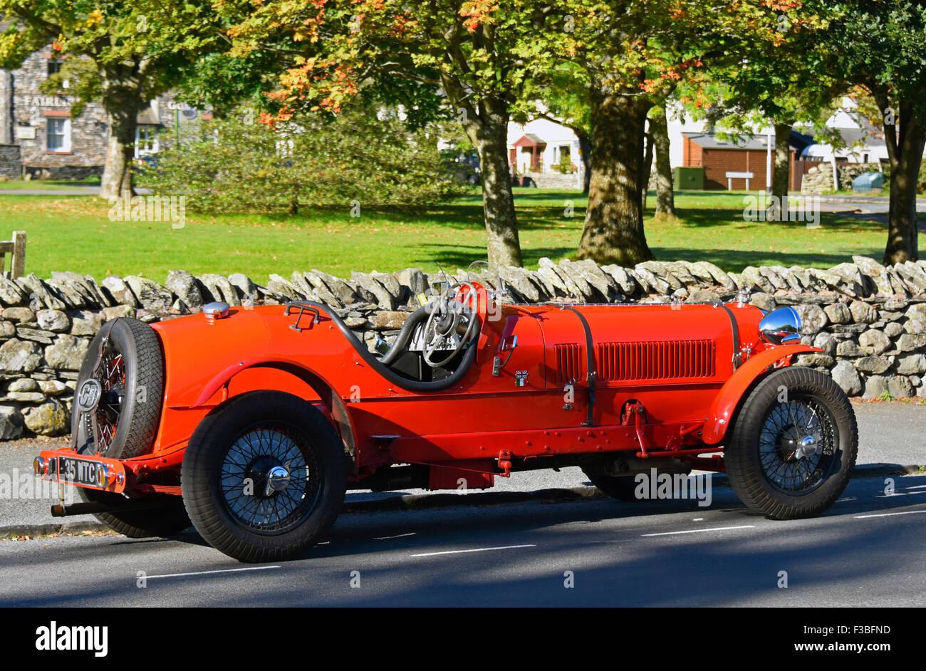 Singer Motors sports car. - Stock Image