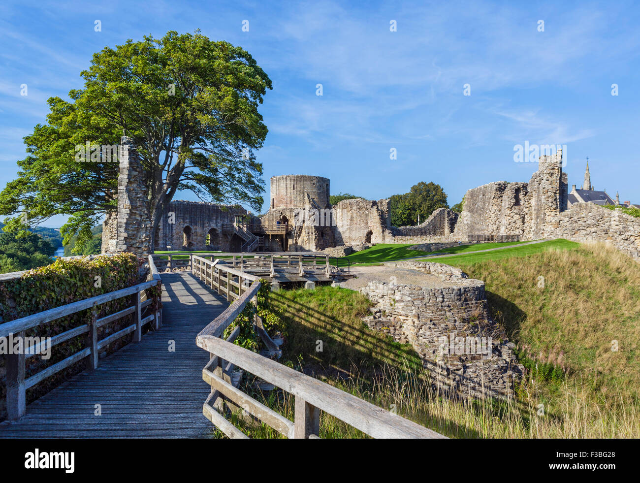 The Castle at Barnard Castle, County Durham, England, UK - Stock Image