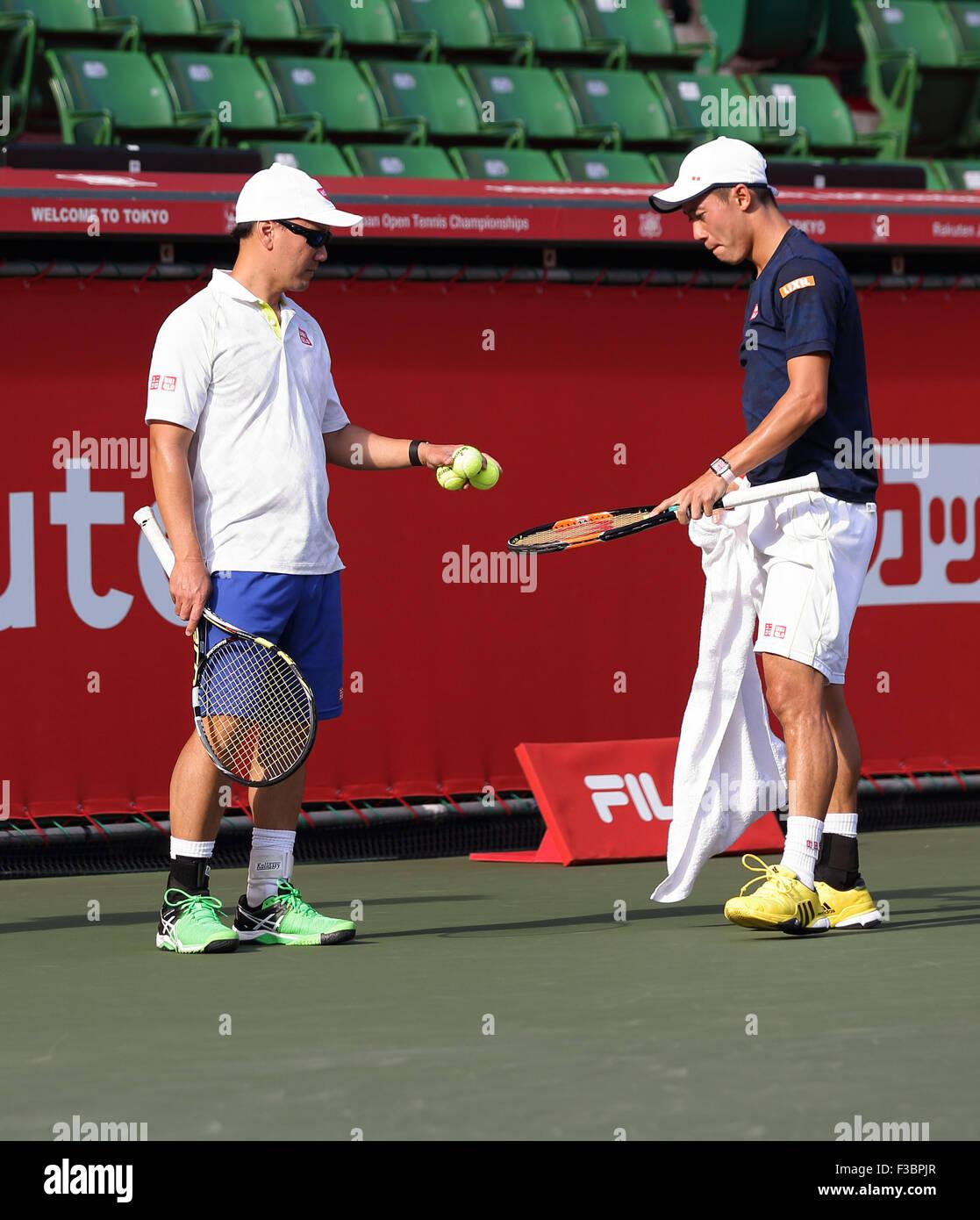 Michael Chang Kei Nishikori Stock Photos & Michael Chang Kei