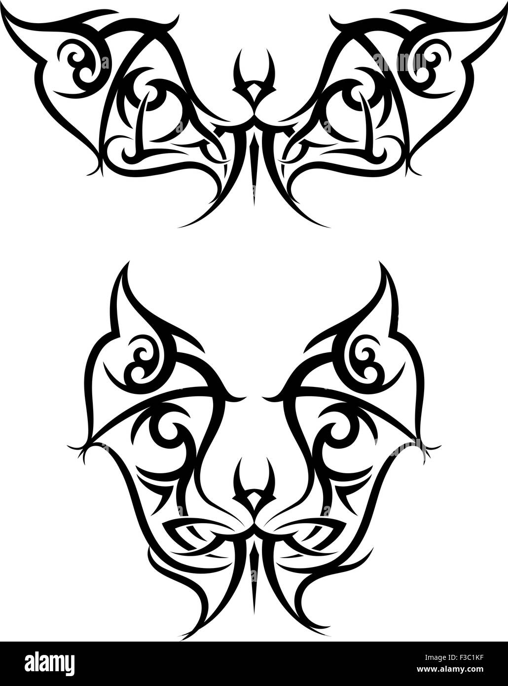 Henna Adornment Stock Vector Images Alamy