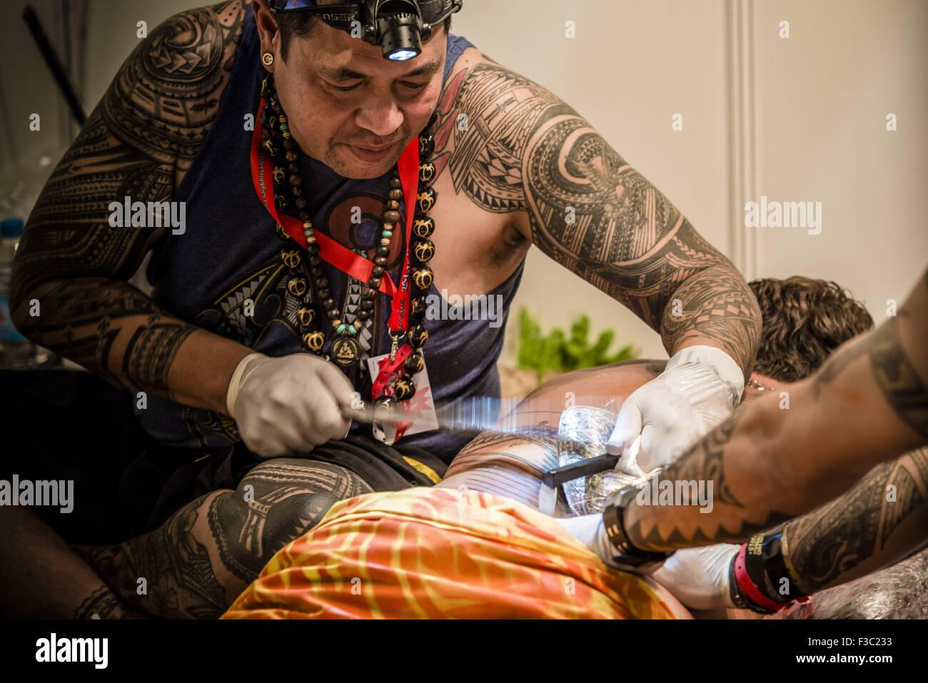 Samoan Tattoo Stock Photos Samoan Tattoo Stock Images Alamy