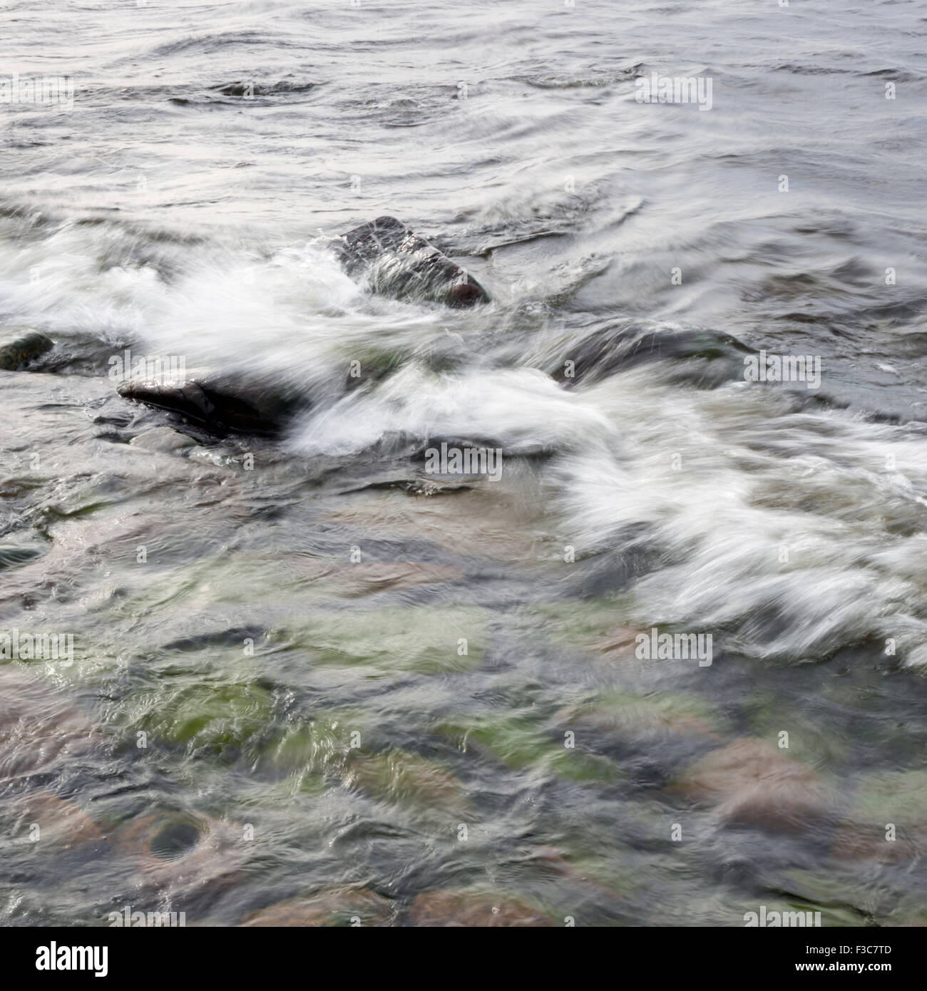 small waves - Stock Image