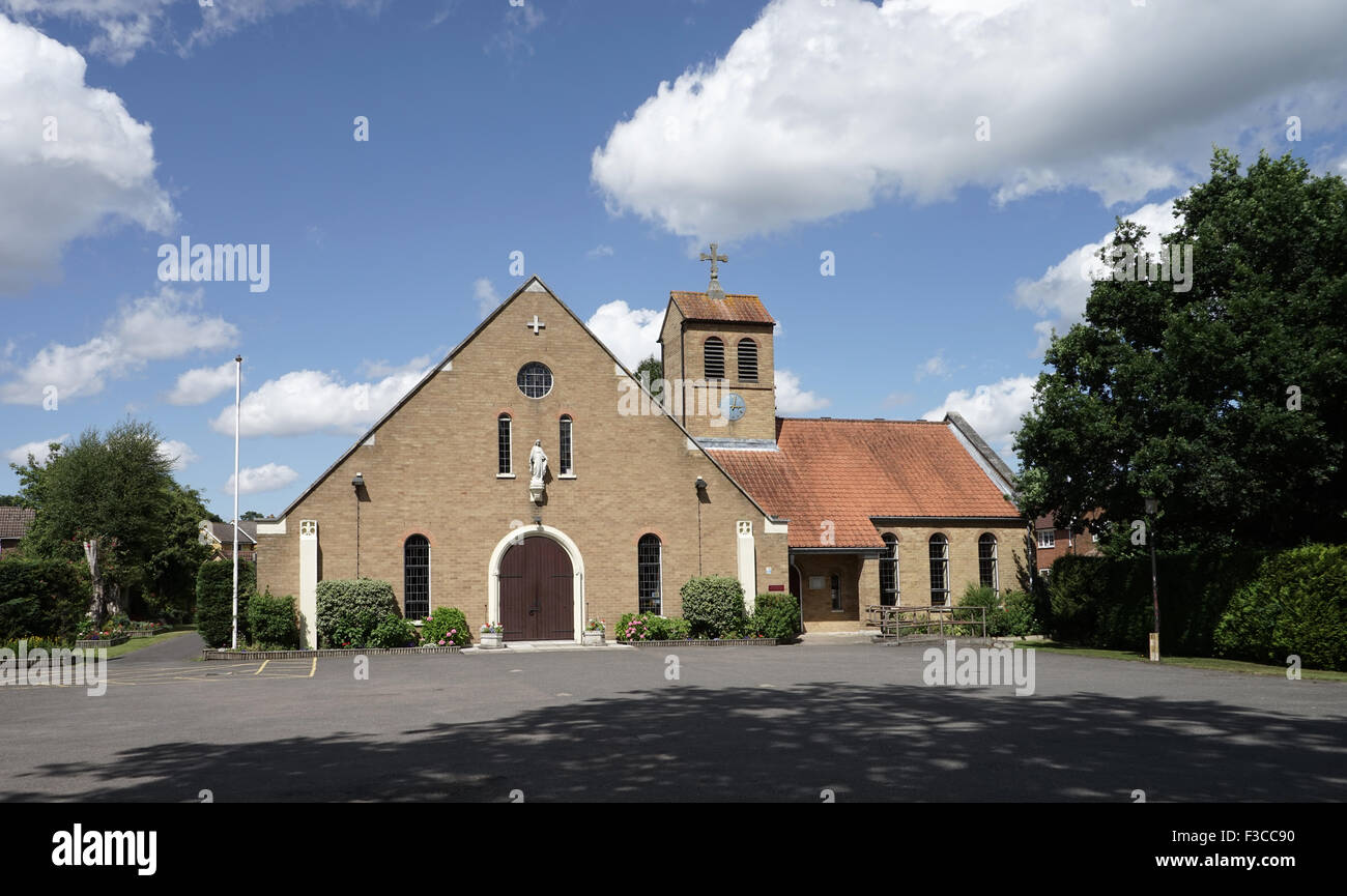 Catholic Church of The Immaculate Conception, Sandhurst, Berkshire -1 - Stock Image