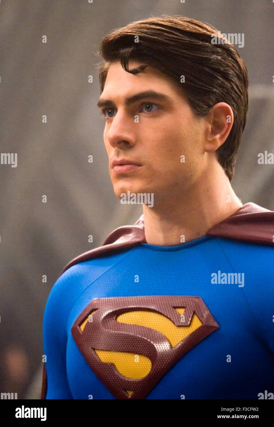 SUPERMAN RETURNS 2006 film with Brandon Routh Stock Photo