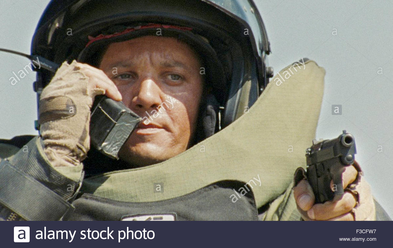 THE HURT LOCKER 2008 Summit Entertainment film with Jeremy Renner - Stock Image