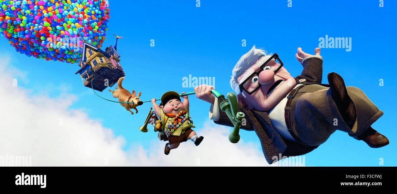 UP 2009 Disney/Pixar animation - Stock Image