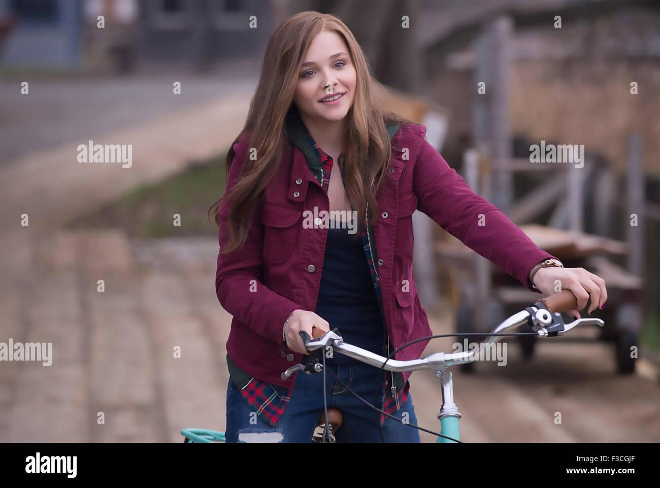 IF I STAY  2014 Warner Bros/Metro-Goldwyn-Mayer film with Chloe Grace Moretz - Stock Image
