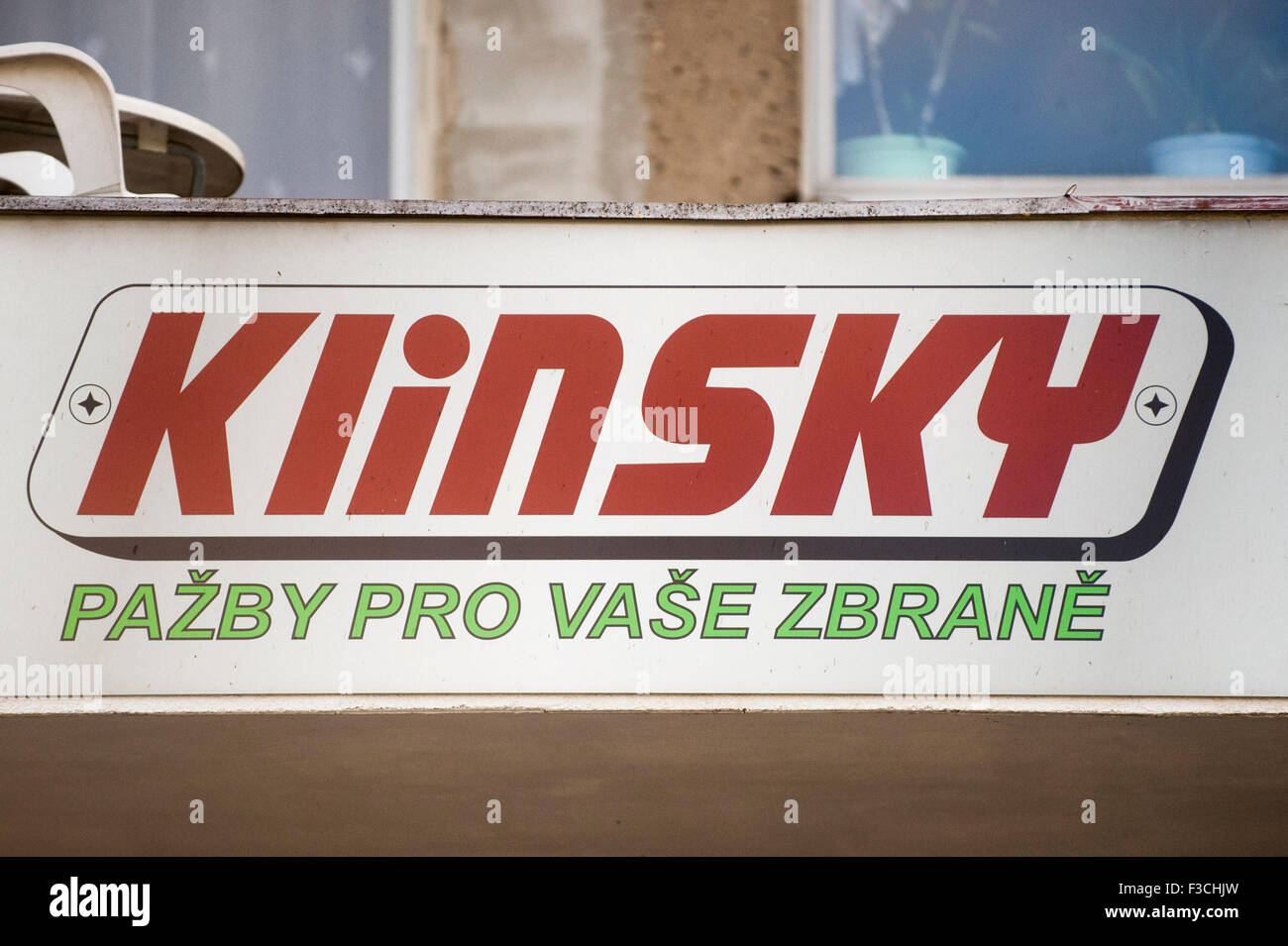 Prosec, Czech Republic. 29th Sep, 2015. Czech company Klinsky exports wooden riffle stocks and pistol grips to all - Stock Image