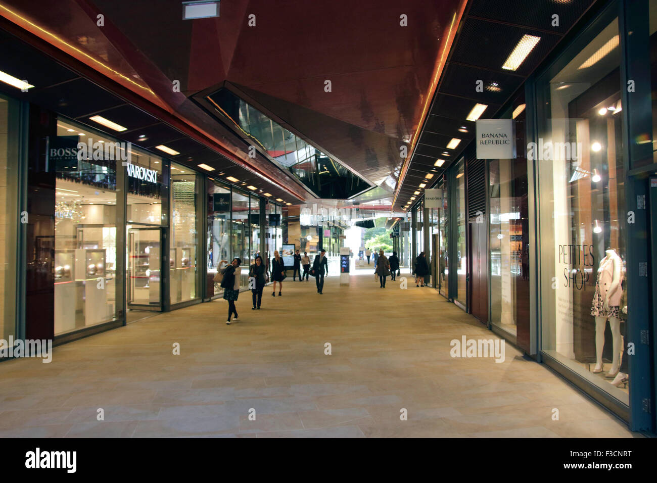 One New Change Shopping Centre Cheapside London - Stock Image