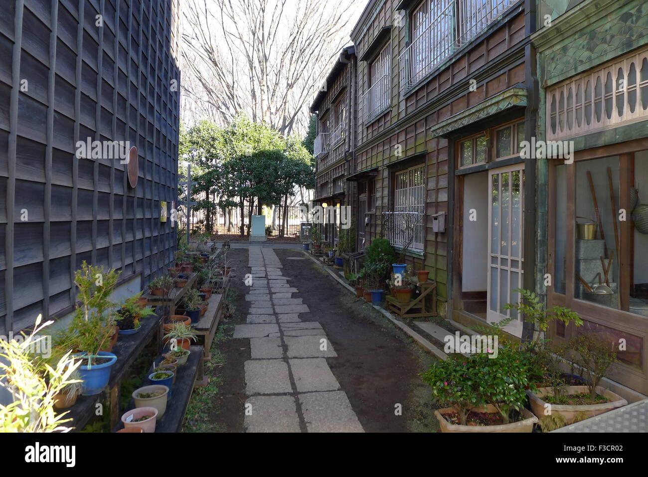 Retro Alley in Tokyo - Stock Image